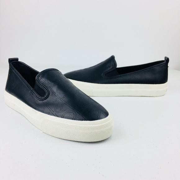 New Calvin Klein Black Sneakers Slip On
